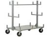 ALL-WELDED PORTABLE BAR & PIPE TRUCK